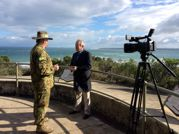 Peter Meehan hosts video for Centennary of ANZAC first shot Portsea